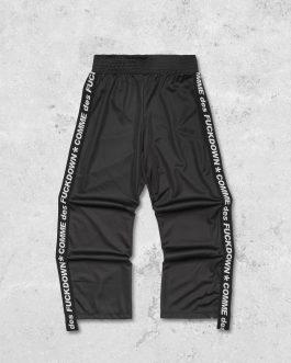 Pantalone Triacetato Nero Comme Des Fuckdown
