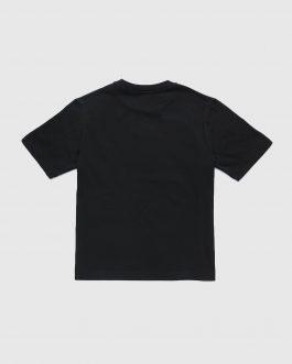 T-Shirt TUDERCODE OVER Nero Diesel Kids
