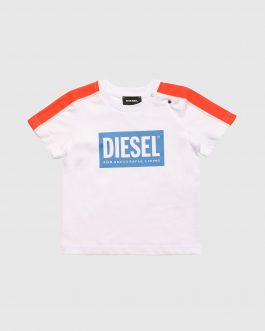 T-Shirt TANGEB Bianco Diesel Kids