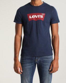T-Shirt Graphic Setin Neck Blu Levi's