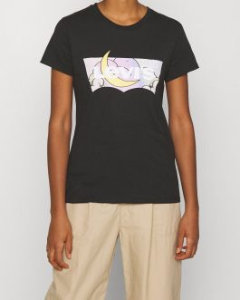 T-Shirt Batwing Dreamy Fill Caviar Nero Levi's
