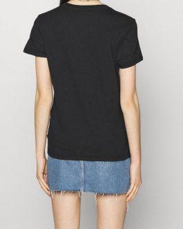 T-Shirt New Logo Ii Caviar Nero Levi's