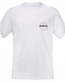 T-Shirt Ssnl Mv Logo Bianco Levi's